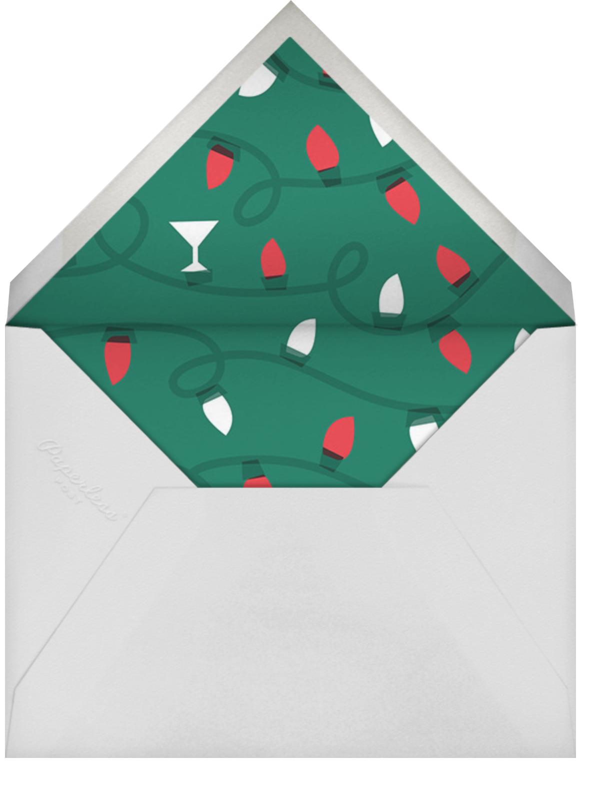 Sip Sip Hooray - Cheree Berry - Adult birthday - envelope back