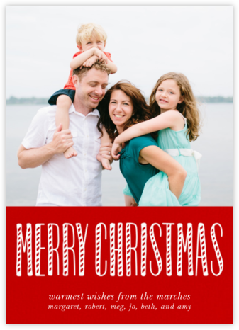 Christmas and Candy Canes - Paperless Post -