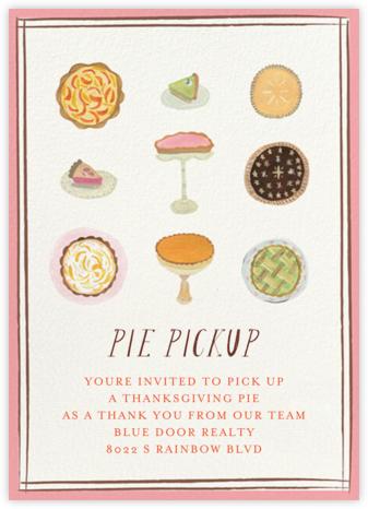 Nine Pies - Pickup - Mr. Boddington's Studio - Thanksgiving invitations