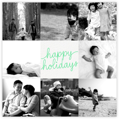 Happy Happy Holidays - Paperless Post - Holiday Cards