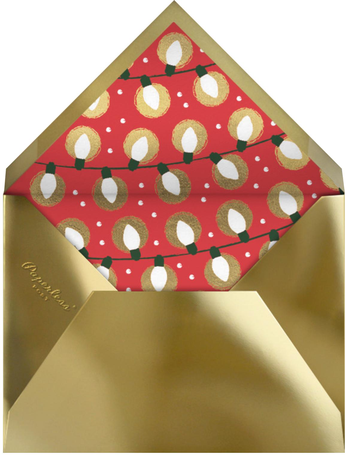 O Tannenbear (Tall) - Christmas - Paperless Post - Christmas - envelope back