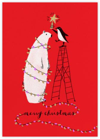 O Tannenbear (Tall) - Christmas - Paperless Post - Funny Christmas eCards