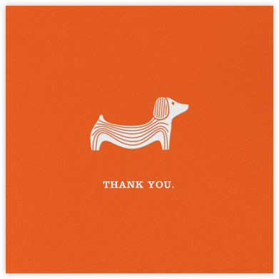 Doxie - Jonathan Adler - Online Thank You Cards