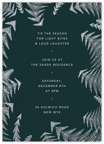 Crystal Pines (Invitation) - Spruce - Paperless Post
