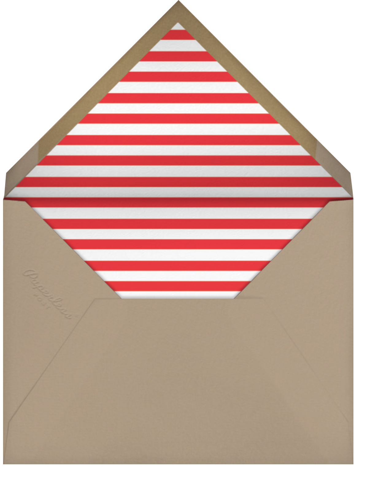 Minimalist Wishes (Square) - Holiday - Paperless Post - Holiday cards - envelope back