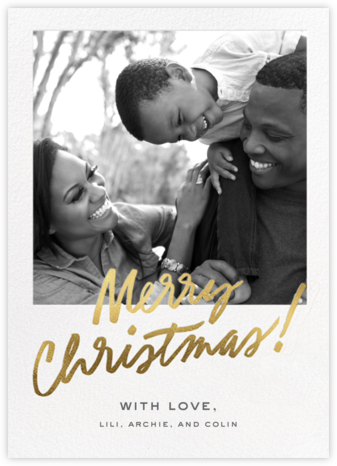 Happy Golden Days - Christmas - Cheree Berry - Photo Christmas Cards