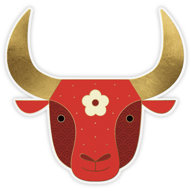 Year Of The Ox - Paperless Post - Lunar New Year Cards