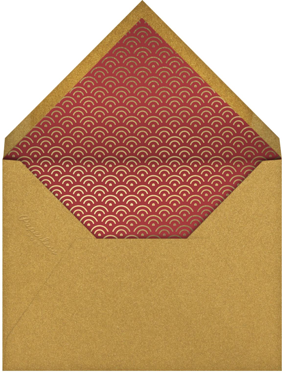 Red Envelope - Paperless Post - Lunar New Year - envelope back