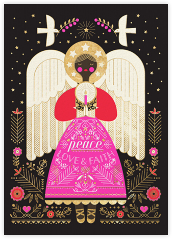 Deco Angel - Deep - Hello!Lucky - Hello!Lucky Cards