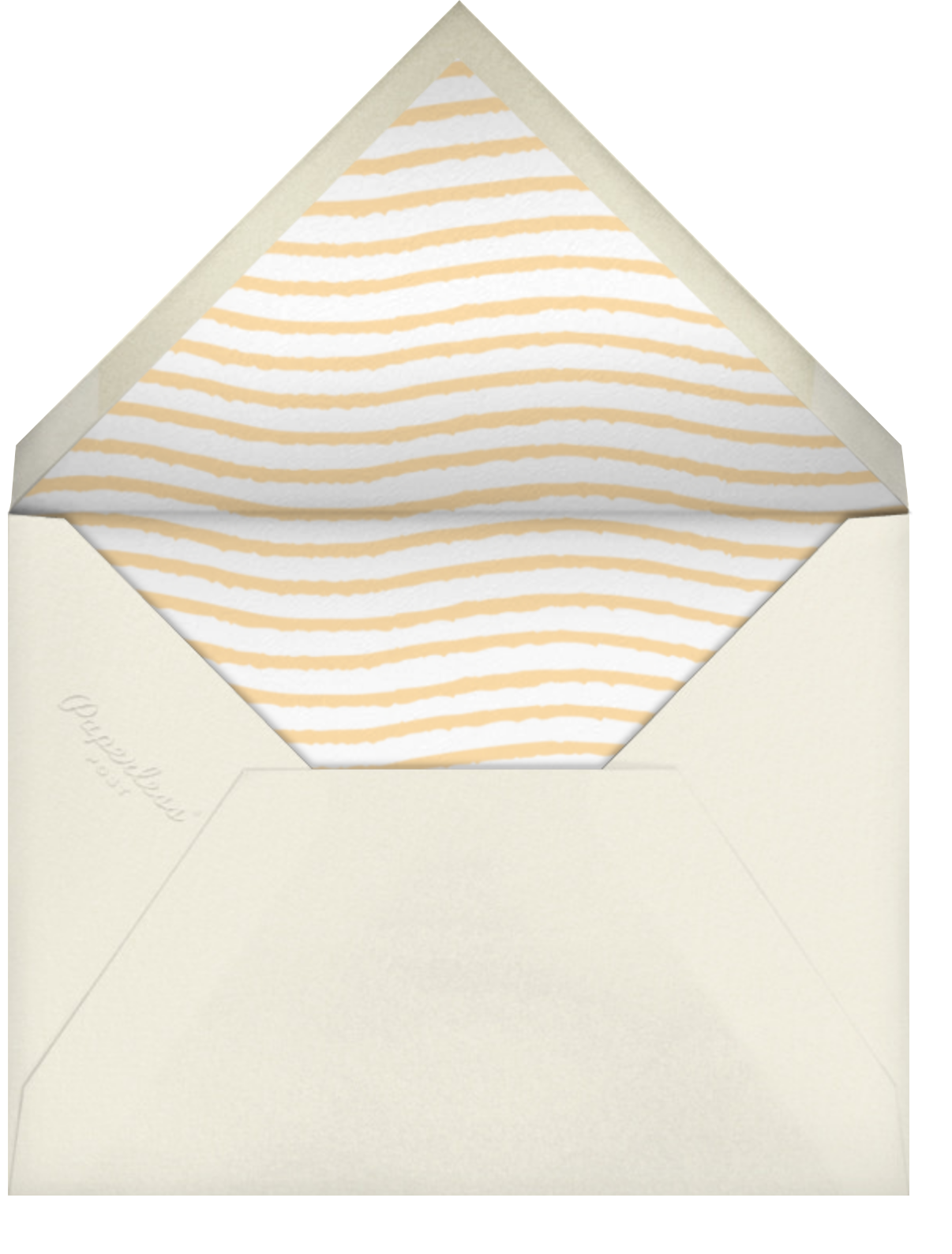 High 5 - Tan - The Indigo Bunting - Congratulations - envelope back