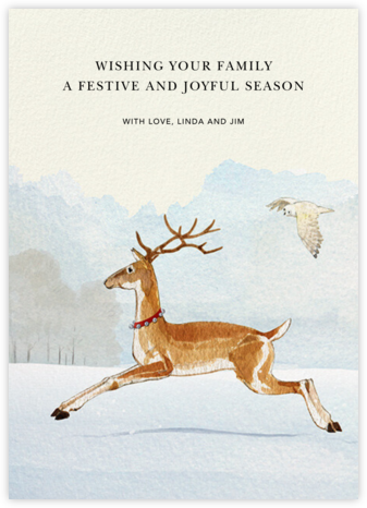 Reindeer Bells - Felix Doolittle - Holiday Cards