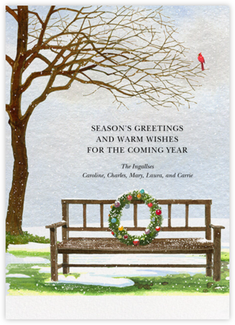 First Snow - Felix Doolittle - Holiday Cards
