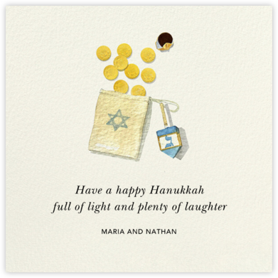 Light and Laughter - Felix Doolittle - Hanukkah Cards