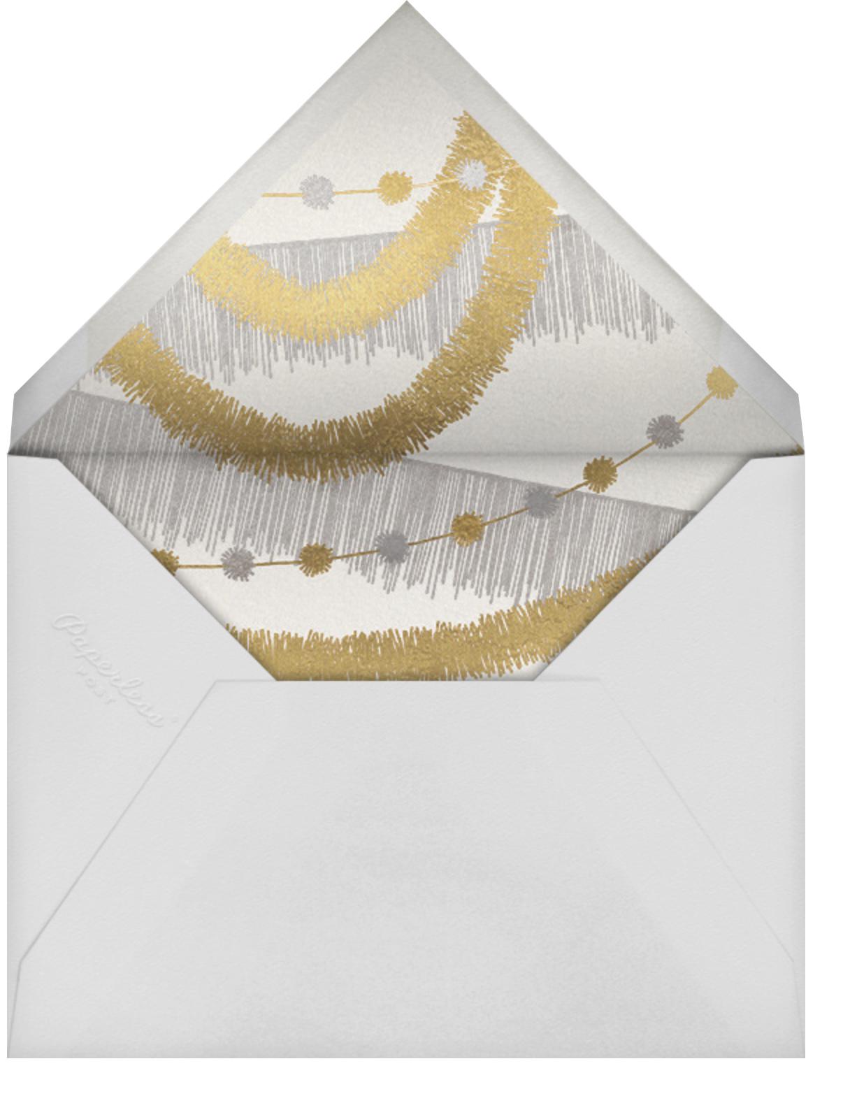 Snowdrift (Multi-Photo) - Spring Rain - Paperless Post - Envelope