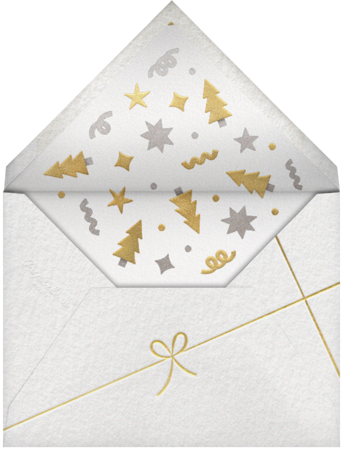 Joy and Candy Canes (Multi-Photo) - Paperless Post - Envelope