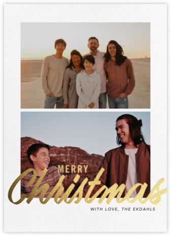 Evelina (Multi-Photo) - Merry Christmas - Paperless Post -