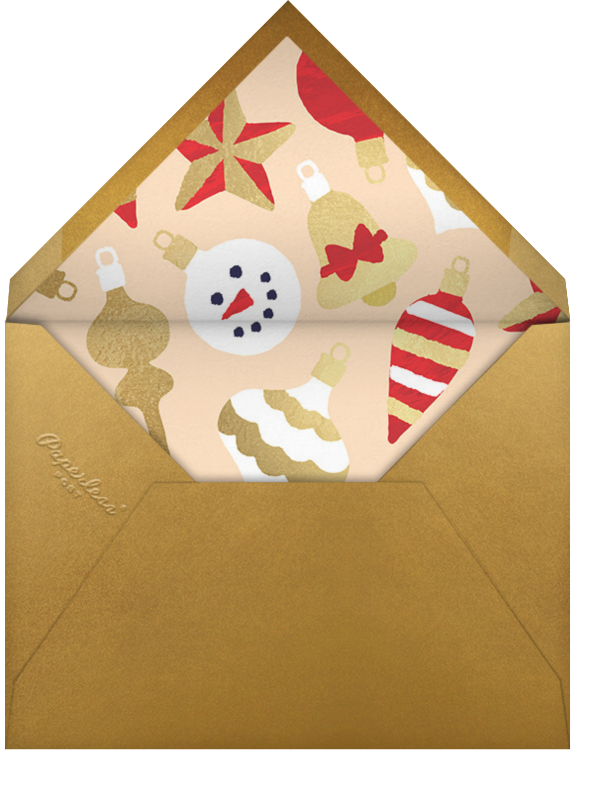 Home Screen (6 Photos) - Bellini - Paperless Post - Holiday cards - envelope back