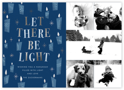 These Little Lights (5 Photos) - Hanukkah - Paperless Post - Holiday Cards