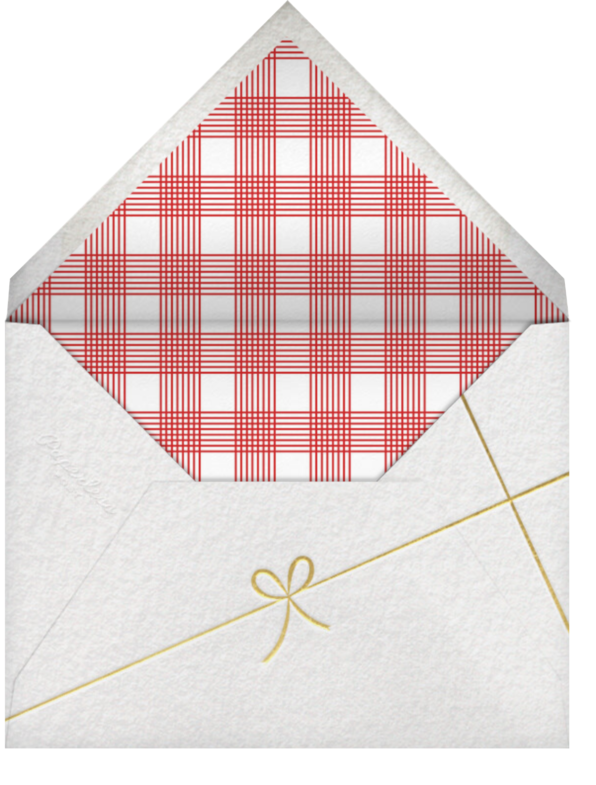Holiday Ascender (Square, 6 Photos) - Paperless Post - New Year - envelope back