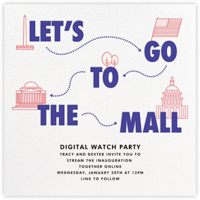 Let's Go to the Mall - Paperless Post - Virtual Parties