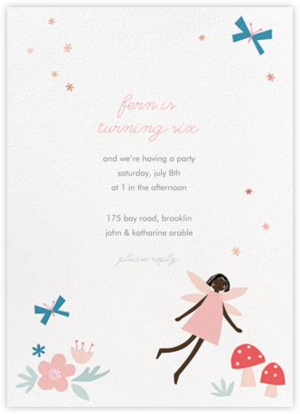 Fairy Nice - Deep - Meri Meri - Online Kids' Birthday Invitations