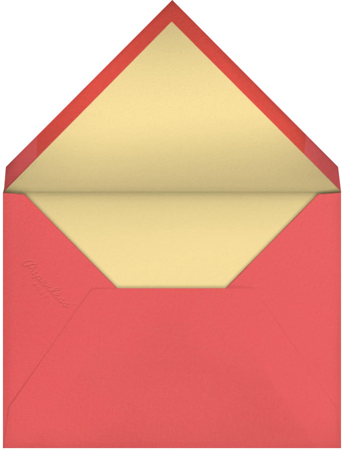 Birthday Bike (Blanca Gómez) - Tan - Red Cap Cards - Birthday - envelope back