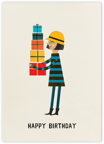 Birthday Girl (Blanca Gomez) - Medium - Red Cap Cards - Birthday