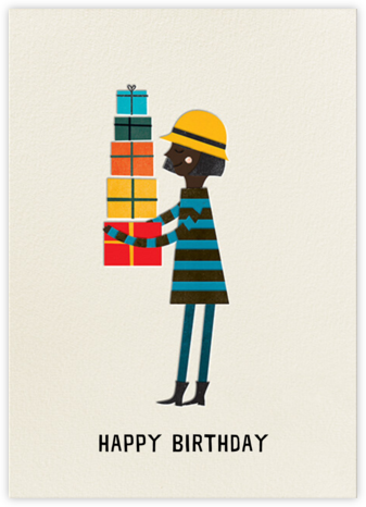 Birthday Girl (Blanca Gomez) - Deep - Red Cap Cards -