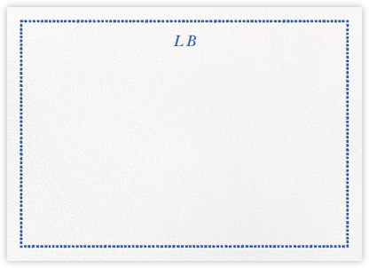 Camden - Lapis Lazuli - Paperless Post - Personalized Stationery