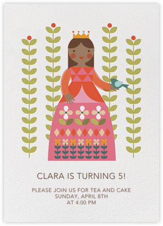 Princess and Flora - Tan - Petit Collage -