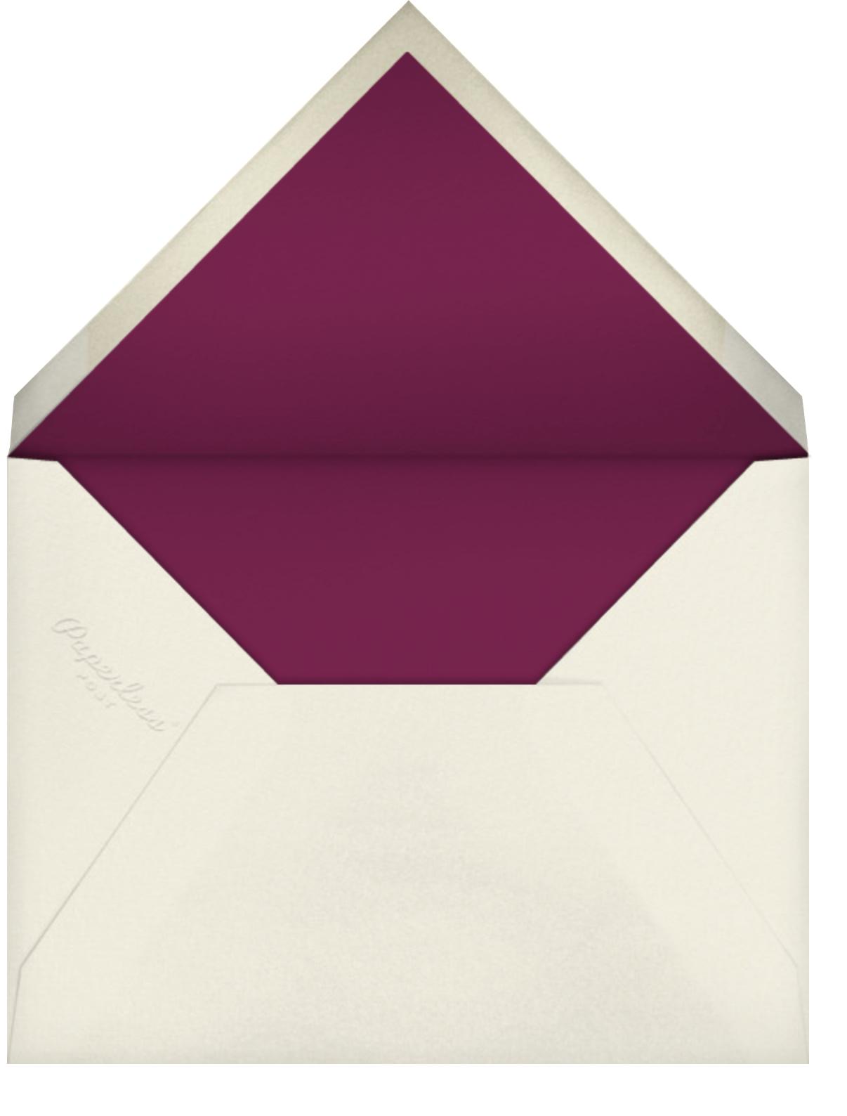 Ballet Birthday (Yelena Bryksenkova) - Deep - Red Cap Cards - Envelope