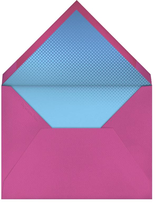 Bunny Slipper - Paperless Post - Kids' birthday - envelope back
