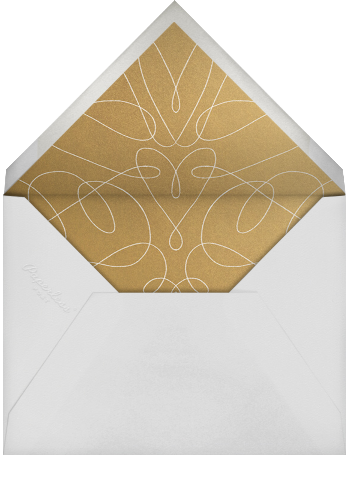 Change of Plans - Paperless Post - Save the date - envelope back