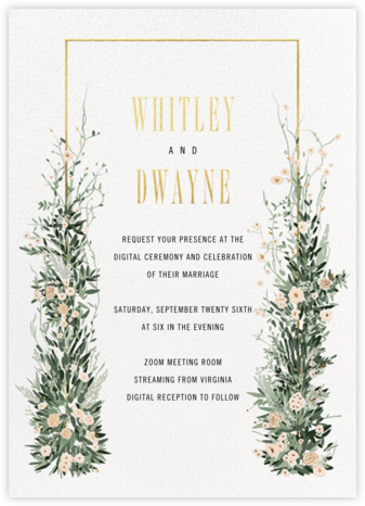 Modern Arch - Paperless Post - Wedding Invitations