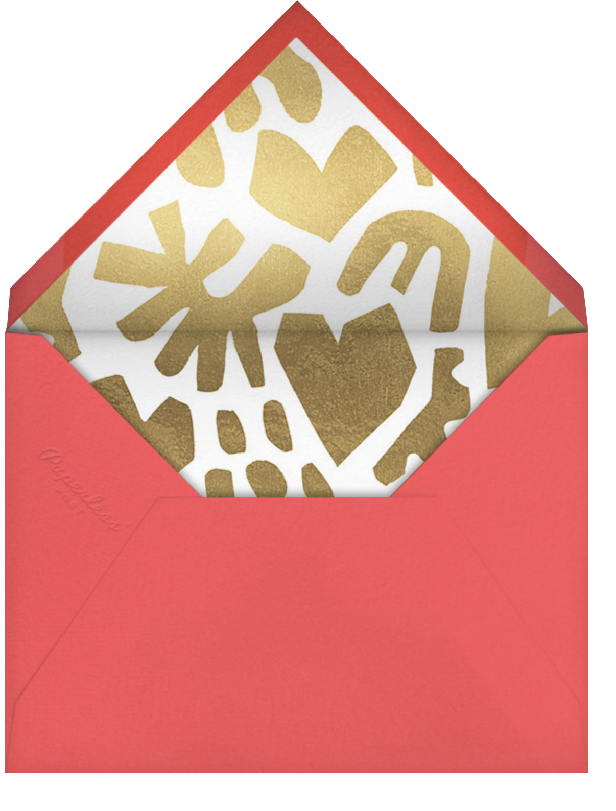 Home Bodies - Paperless Post - Valentine's Day - envelope back