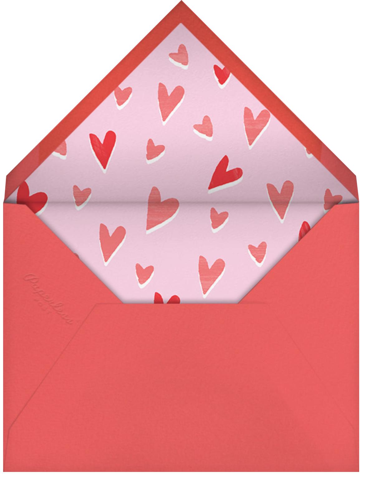 Hoppy Note - Paperless Post - Valentine's Day - envelope back