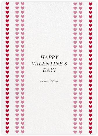 Love Chain - White - kate spade new york - Valentine's Day Cards
