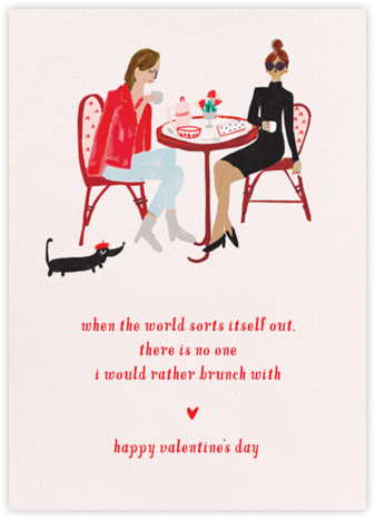 Love You a Brunch - Fair/Medium - Mr. Boddington's Studio - Valentine's Day Cards