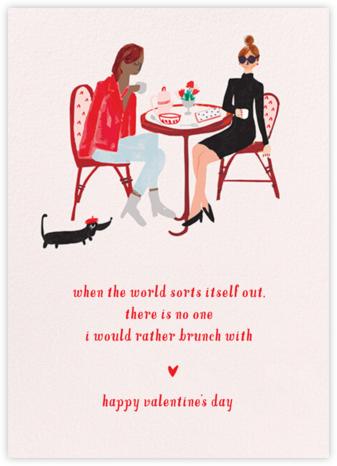 Love You a Brunch - Tan/Fair - Mr. Boddington's Studio - Valentine's Day Cards