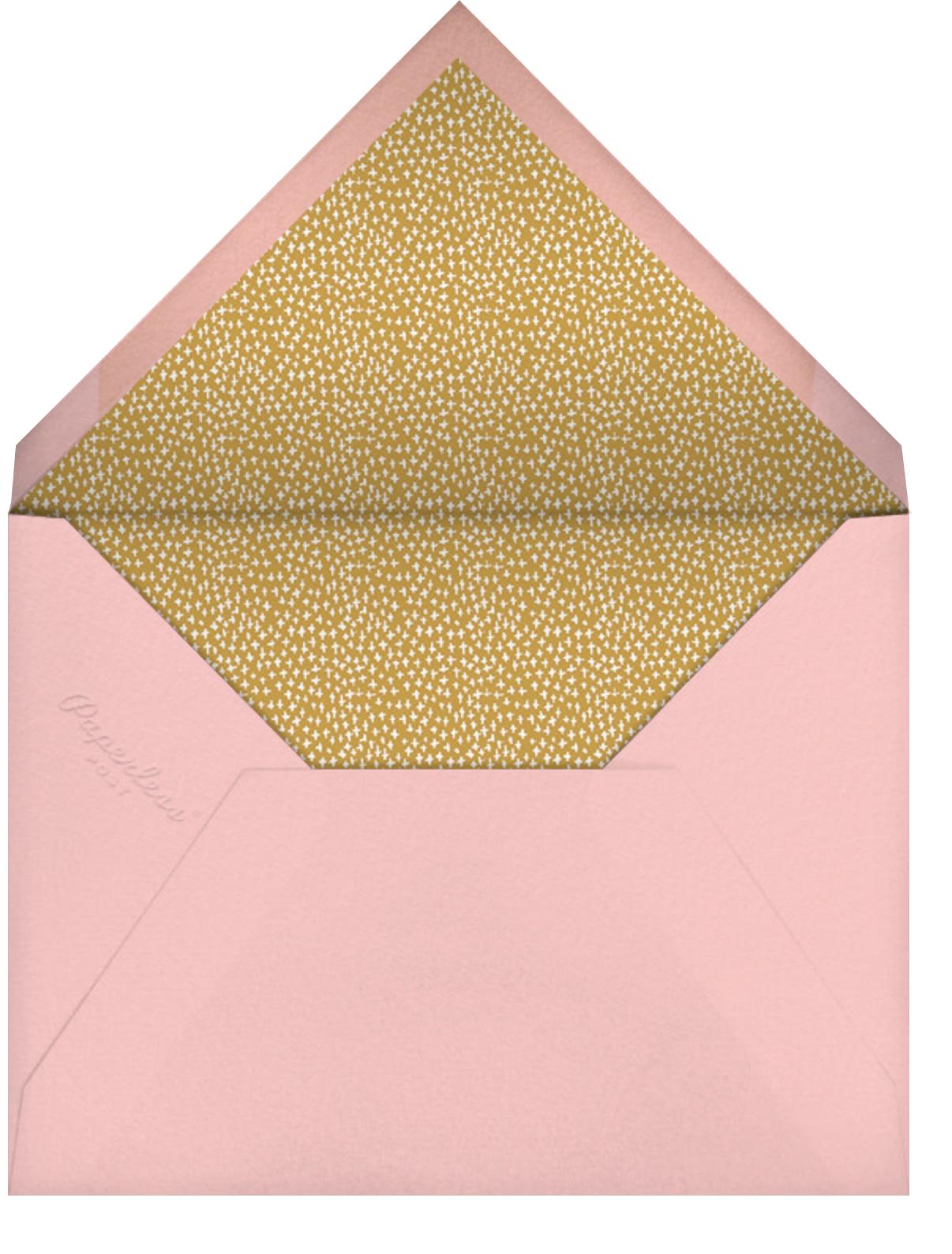 Can't Wait - Mr. Boddington's Studio - Thinking of you - envelope back