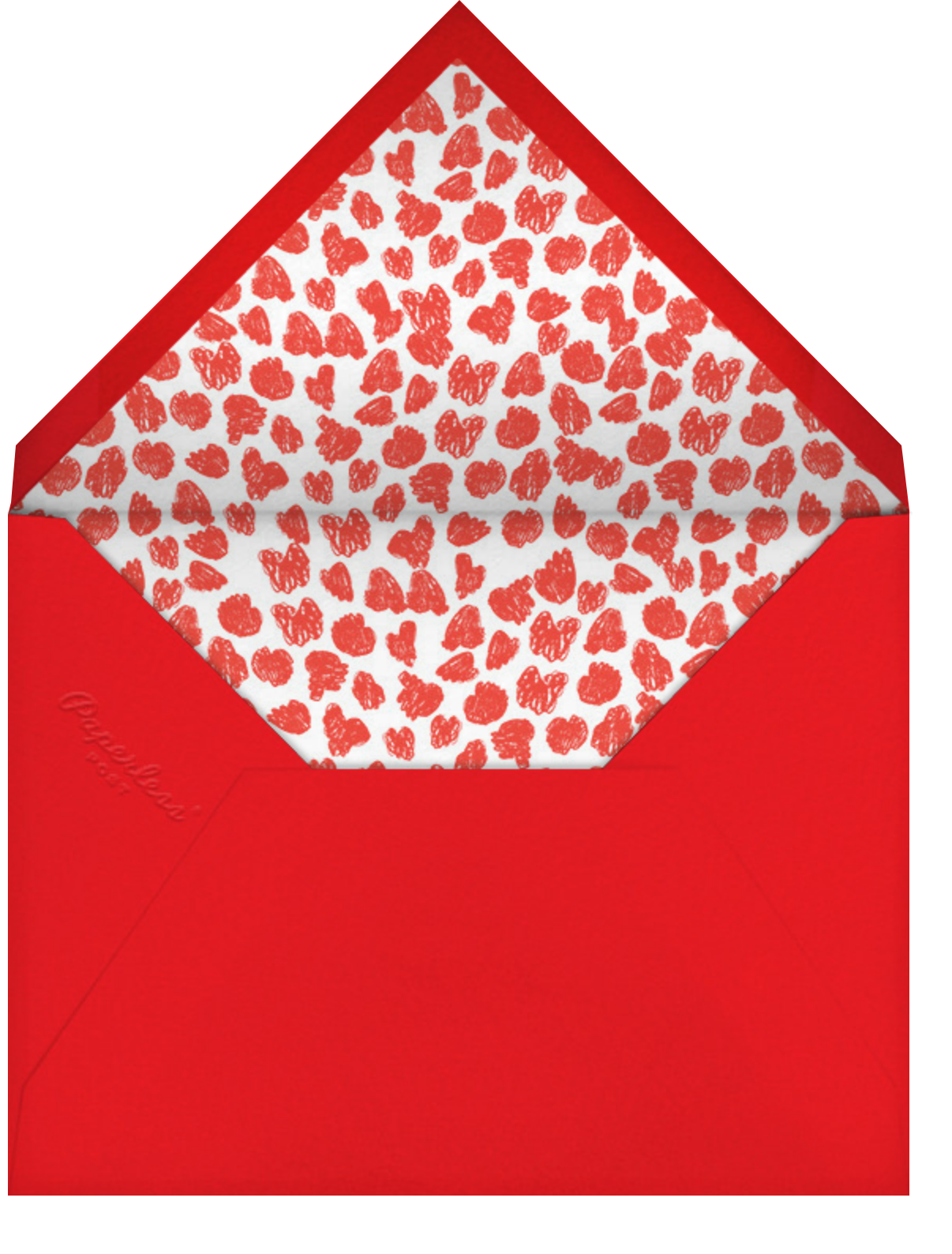 All the Ways - Mr. Boddington's Studio - Valentine's Day - envelope back