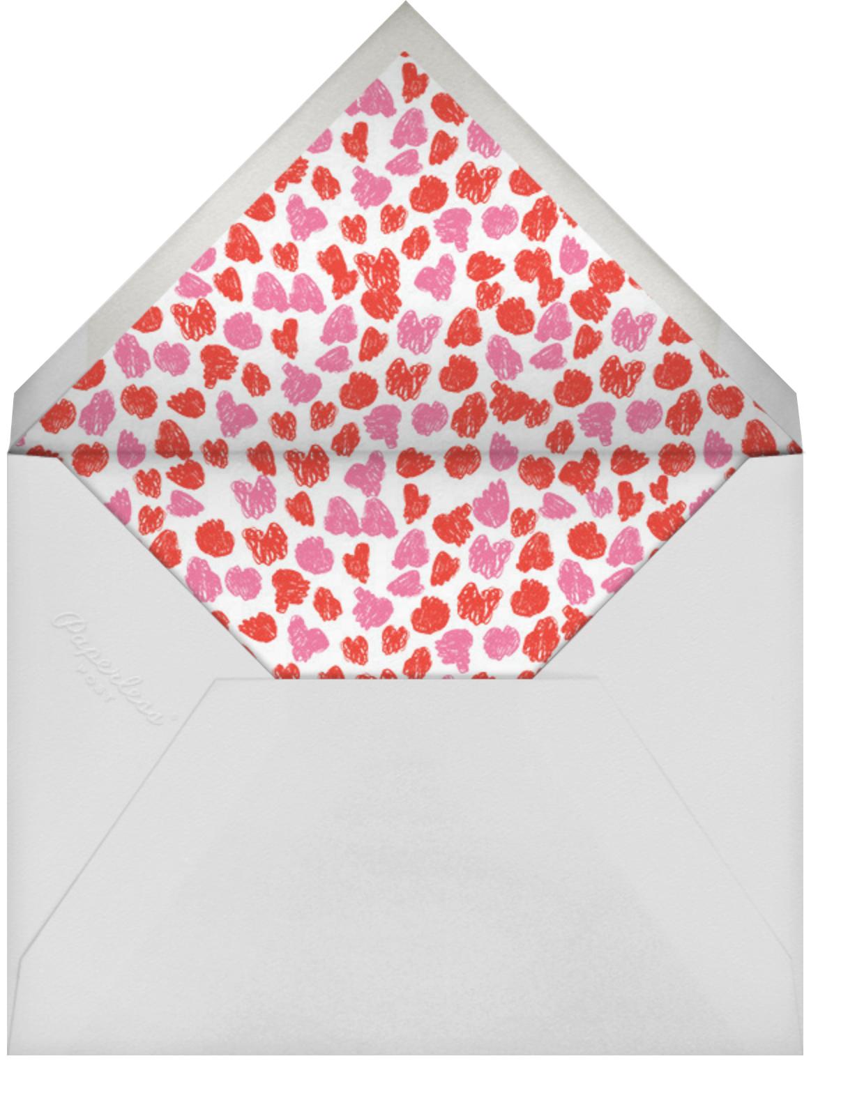 Glad You're Here - Sweet Pea - Mr. Boddington's Studio - Valentine's Day - envelope back