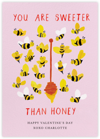 The Bee's Knees - Mr. Boddington's Studio - Valentine's Day Cards