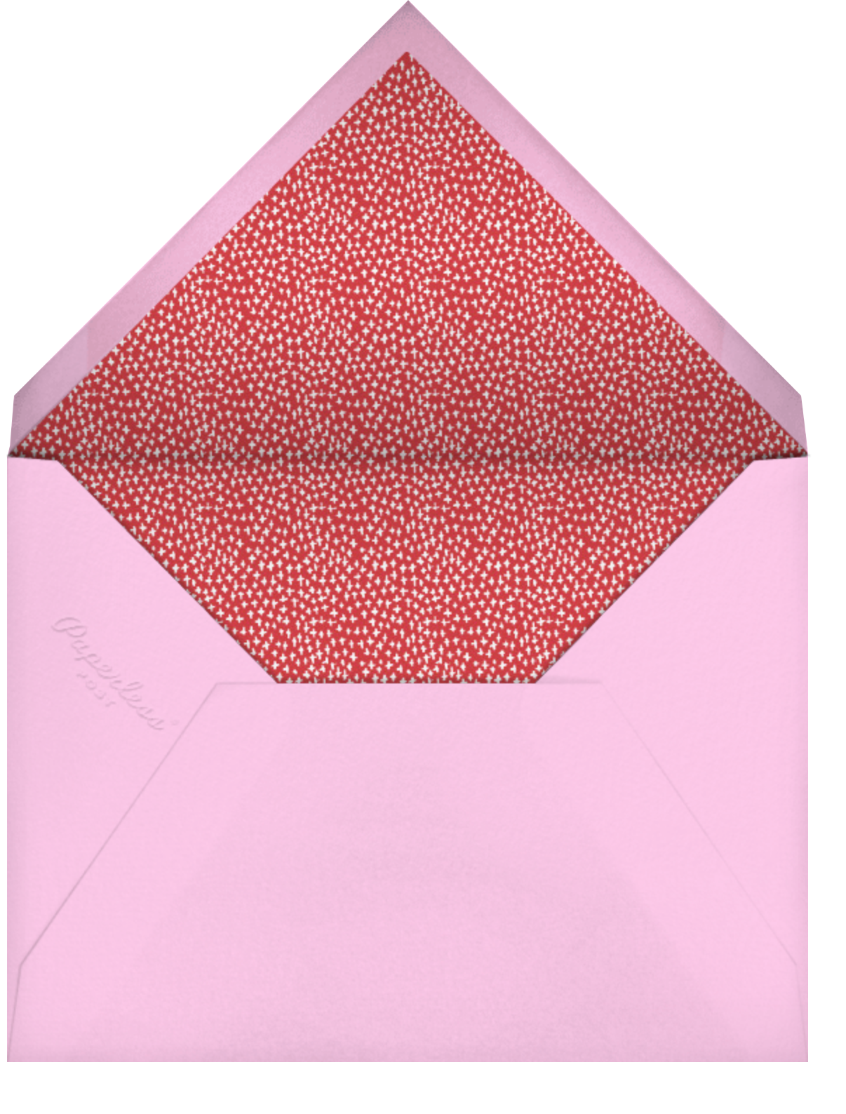 Throwback - Mr. Boddington's Studio - Valentine's Day - envelope back