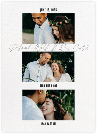 Quick Script - Paperless Post - Wedding Announcements
