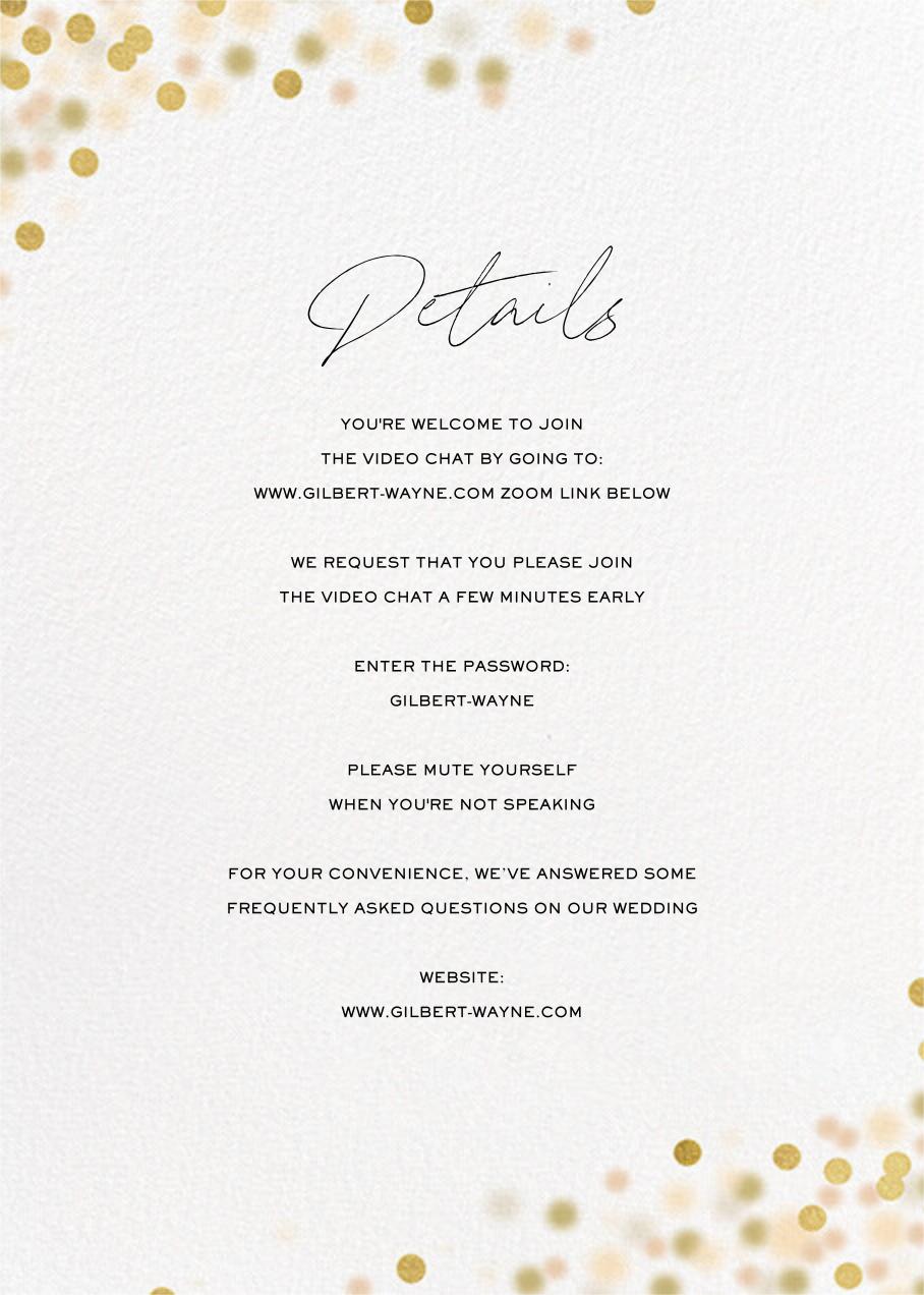 Sparkle Lights (Invitation) - White - Paperless Post - All - insert front