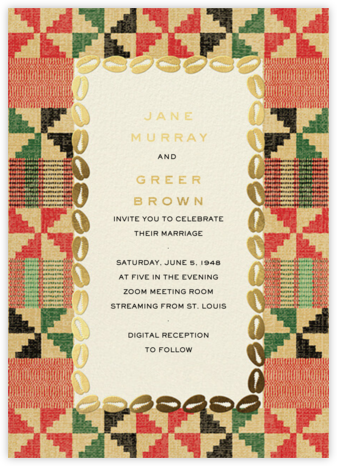 Cowrie (Invitation) - Paperless Post - Wedding Invitations