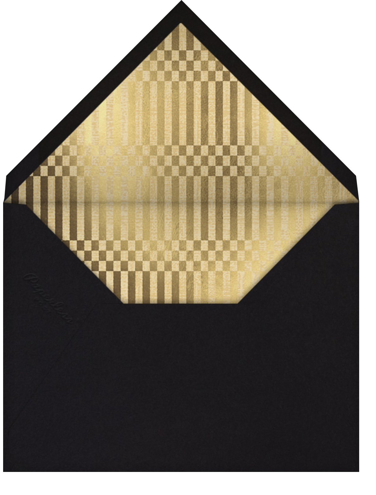 Cowrie (Invitation) - Paperless Post - All - envelope back