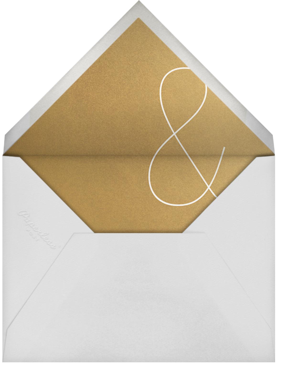 Golden Pair (Invitation) - Paperless Post - All - envelope back