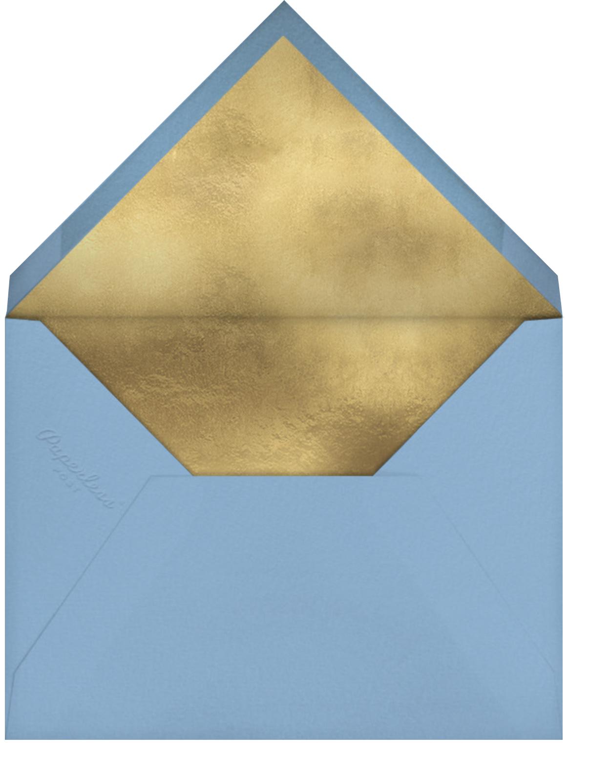 Gold Grid - Paperless Post - Bat and bar mitzvah - envelope back